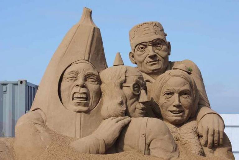 Weston Sand Sculpture Festival 2012 | © David Bolton/Flickr