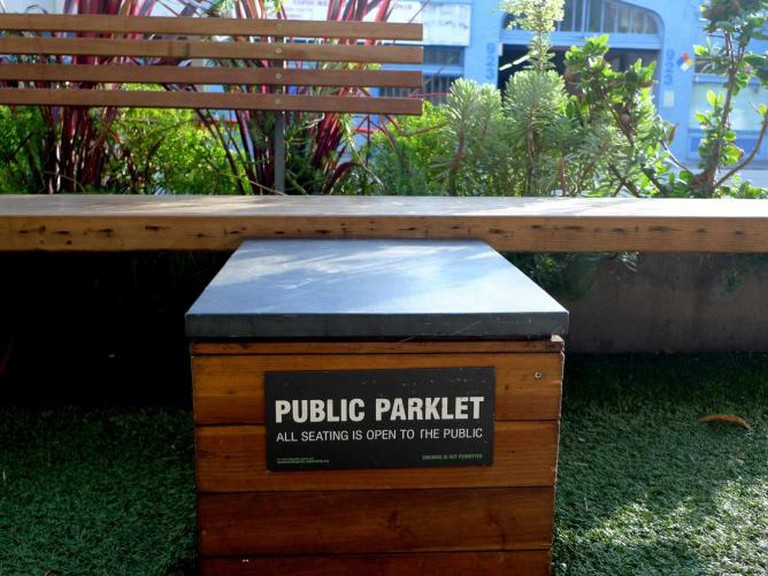 Freewheel Parklet I ©Mark Hogan/Flickr
