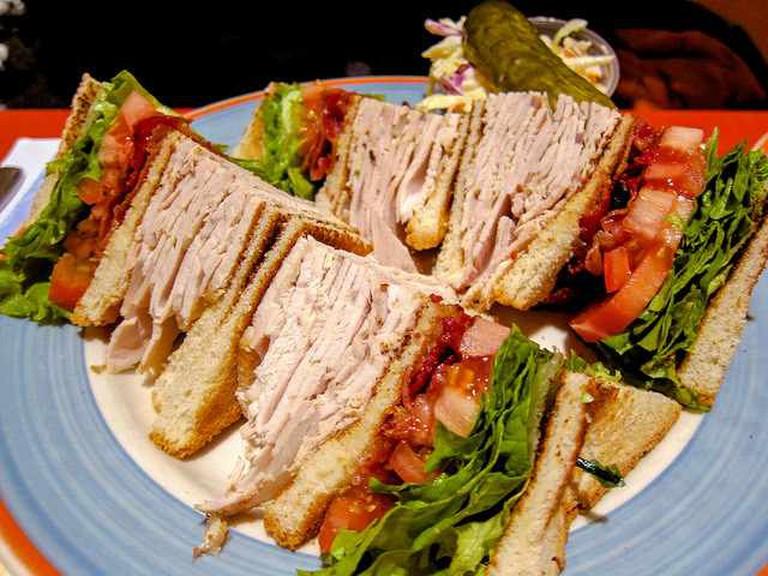 club sandwich   © erik forsberg/Flickr