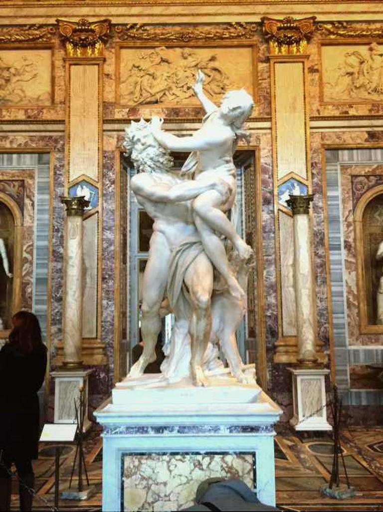 Inside Galleria Borghese/ Courtesy of Giulia Francesca Primo