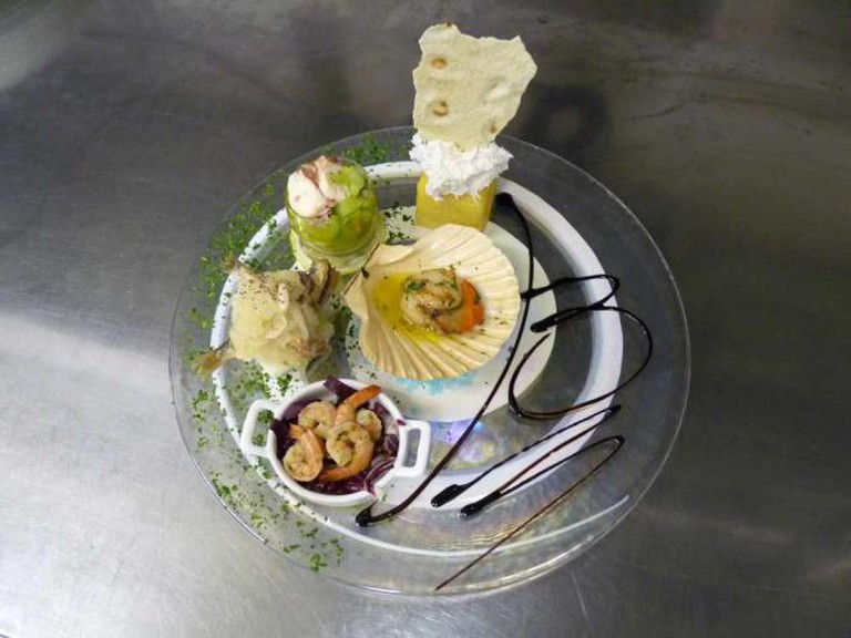 An antipasto at B Restaurant | © Courtesy of B Restaurant alla Vecchia Pescheria