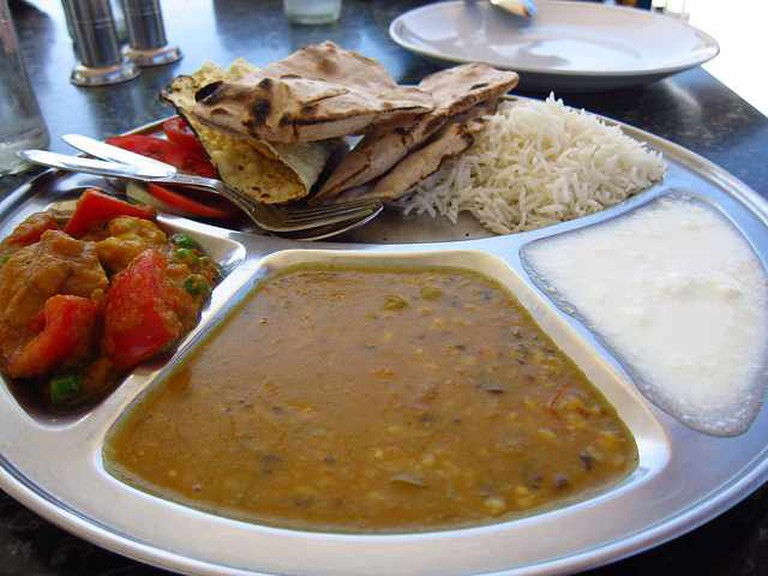 Indian thali | ©  fabulousfabs/Flickr