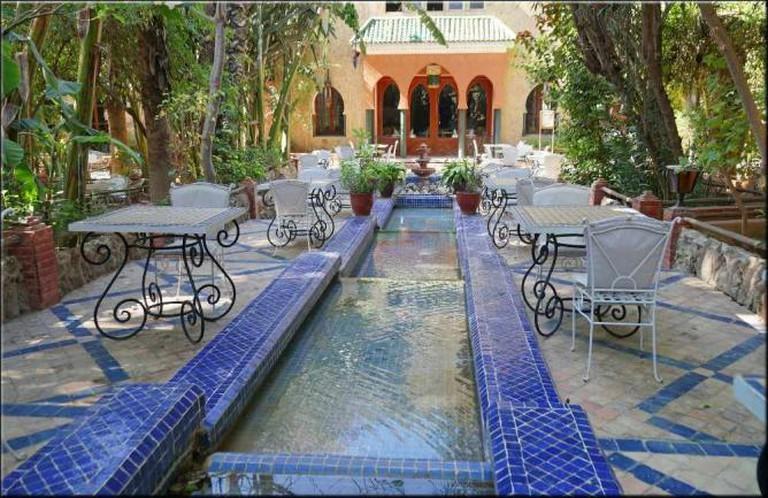 Moroccan walkway