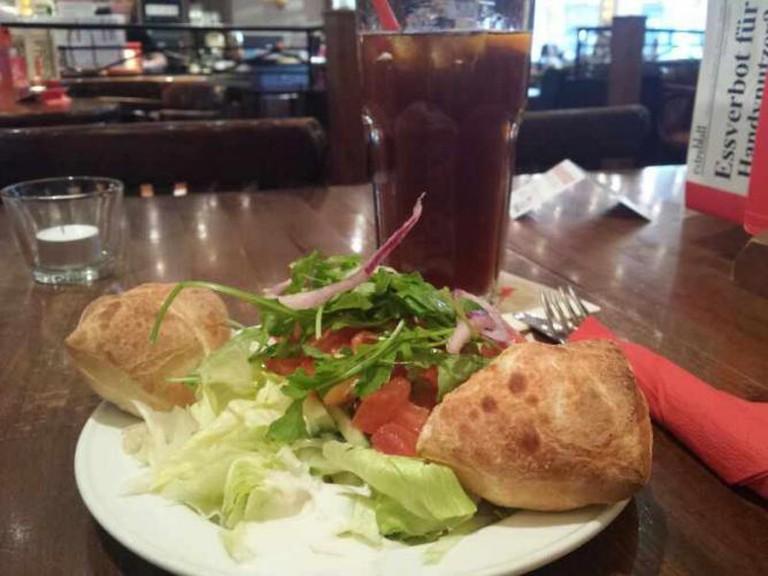 Lunch from Café Extrablatt
