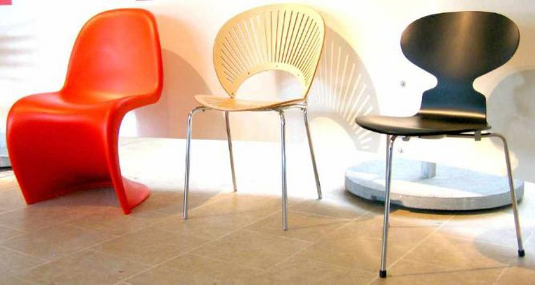 Chairs at the Dansk Design Center | ©Tu/Flickr