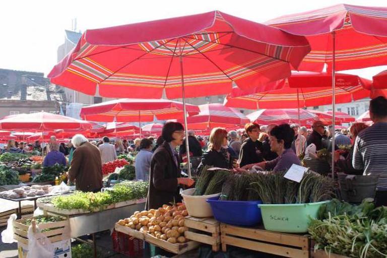 Dolac market | © Connie Ma/Flickr