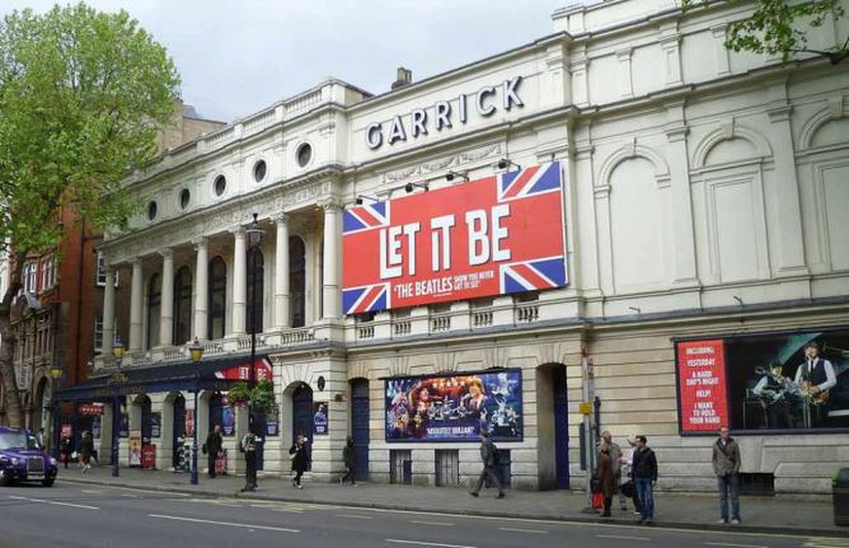 Let It Be at the Garrick Theatre | © Philafrenzy/WikiCommons