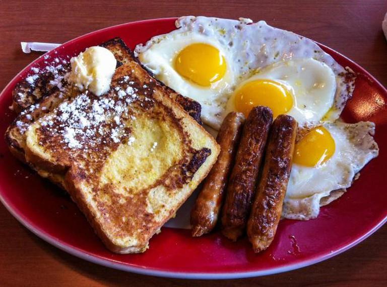American 'Lumberjack' breakfast | © Clemens v. Vogelsang/Flickr