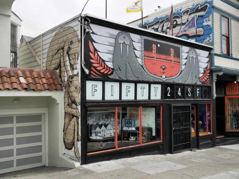 Walrus Fifty 24 Mural | © Jay Galvin/FlickrCommons