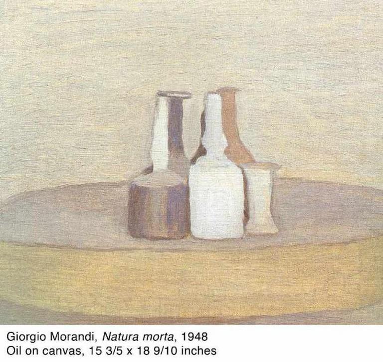 Giorgio Morandi, 'Natura morta,' 1948 | Courtesy Kohn Gallery