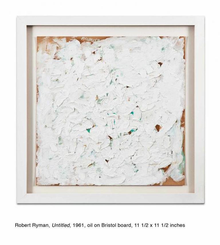 Robert Ryman, 'Untitled', 1961 | Courtesy Kohn Gallery