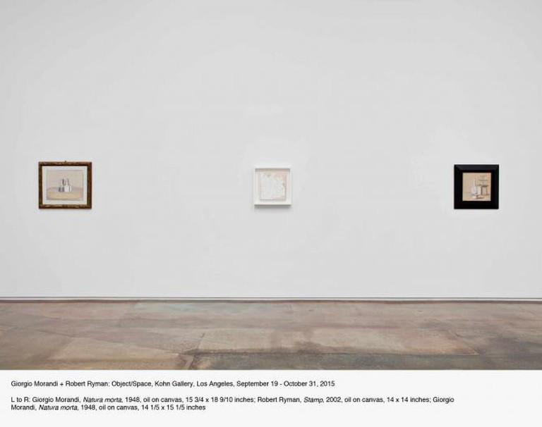 Giorgio Mirandi + Robert Nyman: Object/Space | Courtesy Kohn Gallery