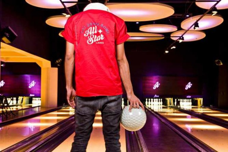 Bowling in style © All Star Lanes, Brick lane
