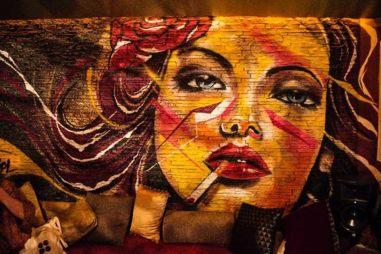 Lychee Wall Art | Image courtesy of Lychee Lounge