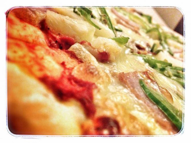 Spicy Hawaiian Pizza | © David/Flickr