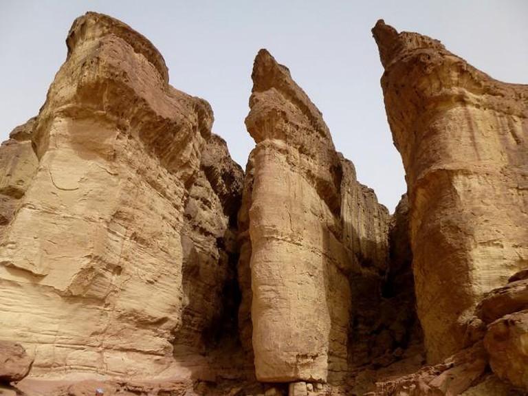 Solomon's pillars in Timna Park   © אילת לב ארי שלי/WikiCommons