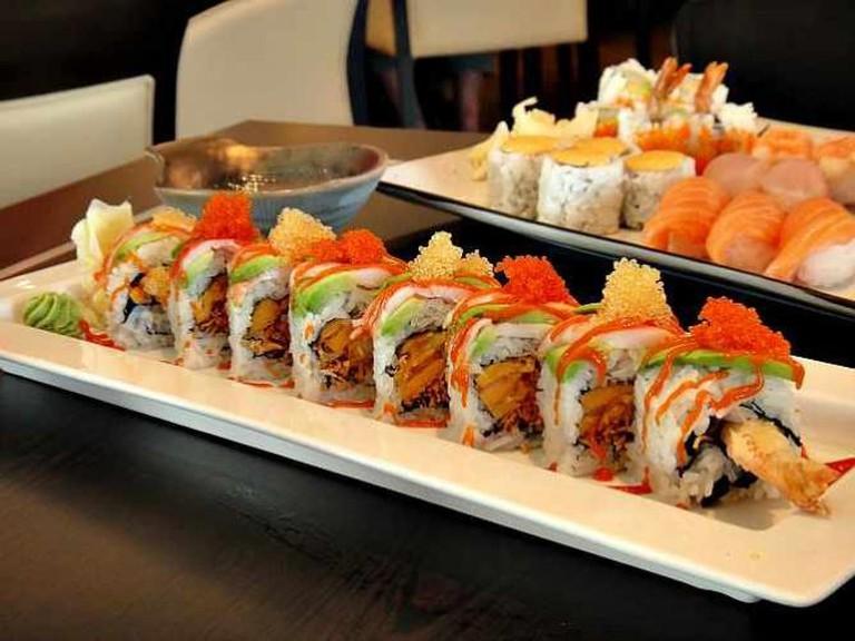 Haru Sushi- Spicy Prawn Roll | © Calgary Reviews/Flickr