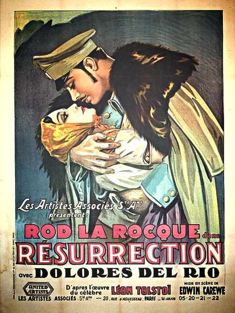 Poster for Tolstoy's Resurrection | © MasquelV/WikiCommons