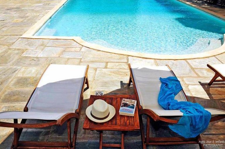 Swimming pool | Courtesy of Villa Nika Boutique Hotel