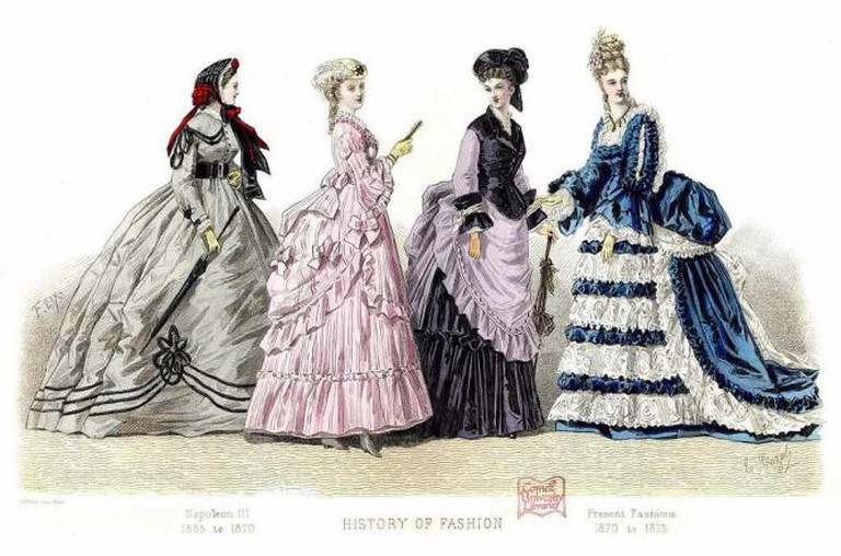 Fashion Plate  © Cornell University Library/Flickr
