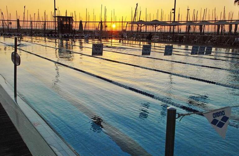 The Gordon Pool at Sunset | © The Gordon