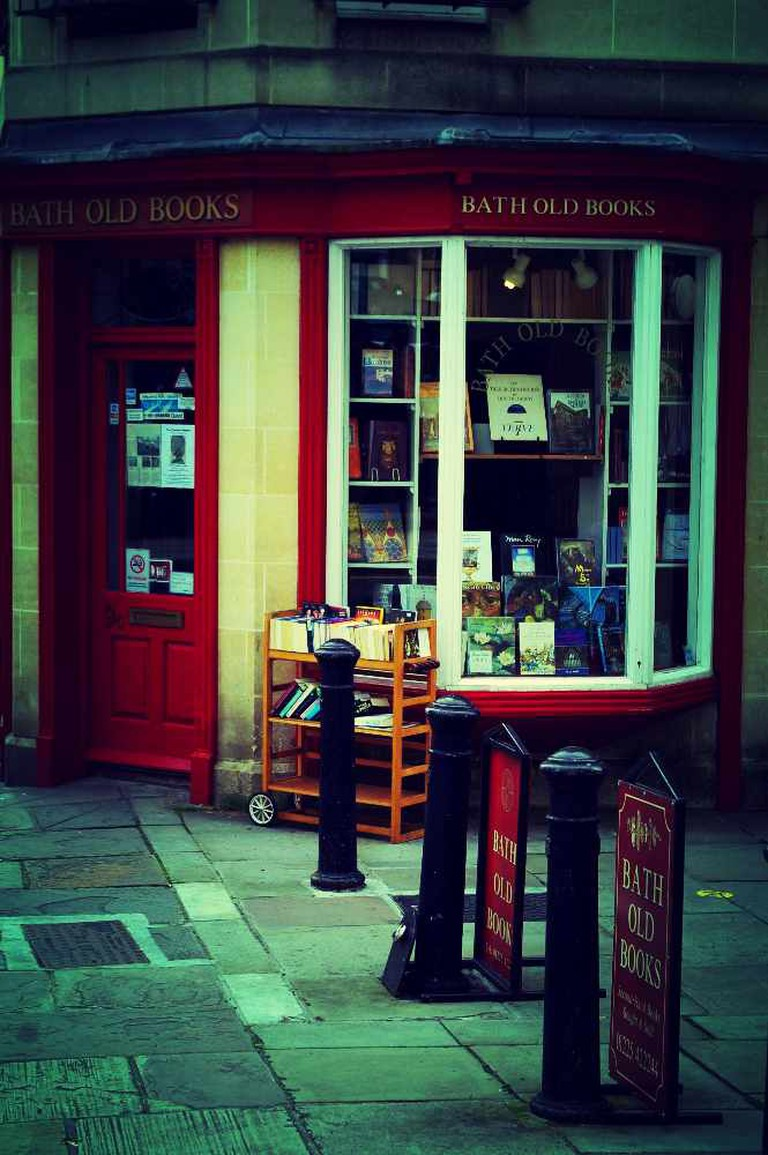 Bath Old Books, Bath © Amelia Wells/Flickr