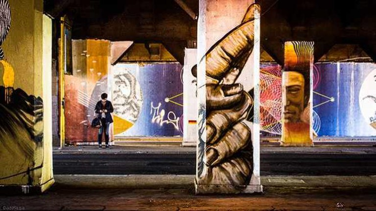 Ostiense's Street Art | © danmasa/Flickr