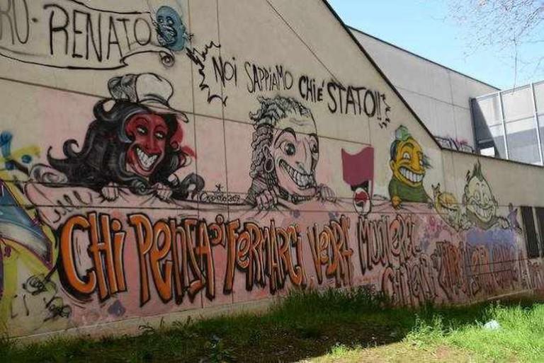 Street Art near the San Paolo Metro Station | Courtesy of Enrica Barberis
