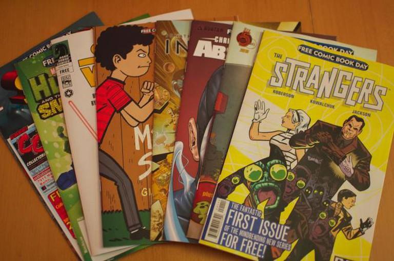 Free Comic Book Day | © Jamaleddin Cole/Flickr