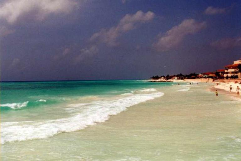 Playa del Carmen beach © WxMom/Flickr