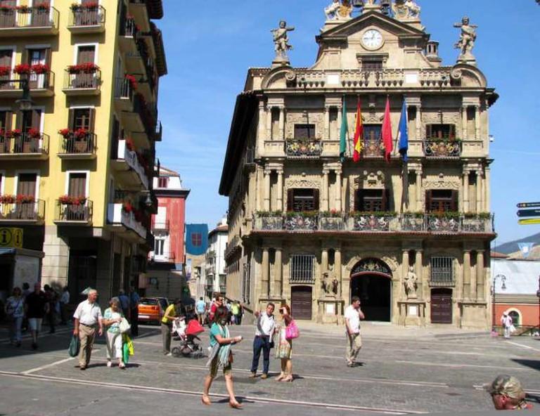 Pamplona Town Hall   © ekenitr/Flickr