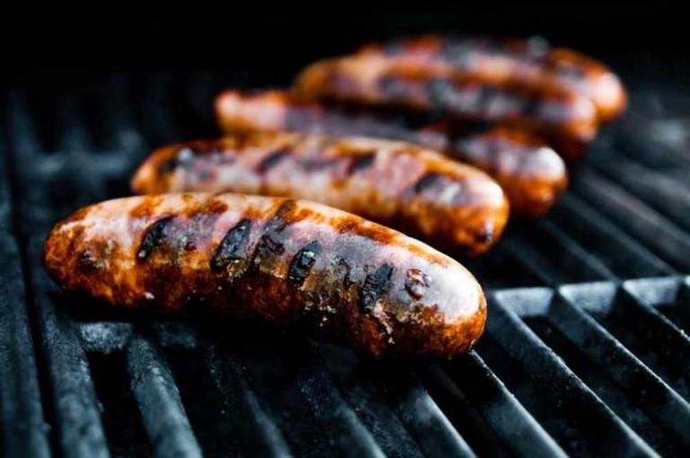 BBQ sausages   © Christopher Craig/Flickr