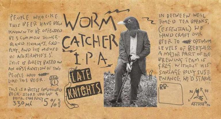 Award-winning IPA   © Late Knight's Brewery