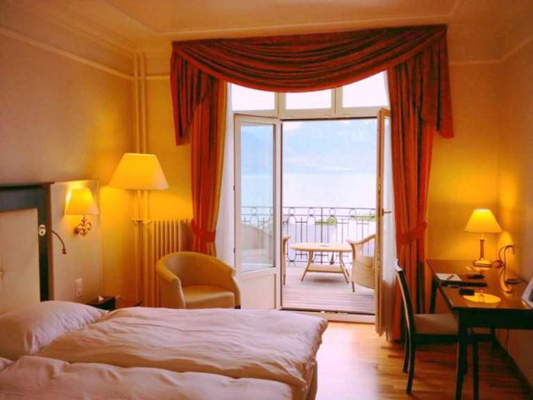 Grand Hôtel Suisse Majestic ©Alex Kudla/Flickr