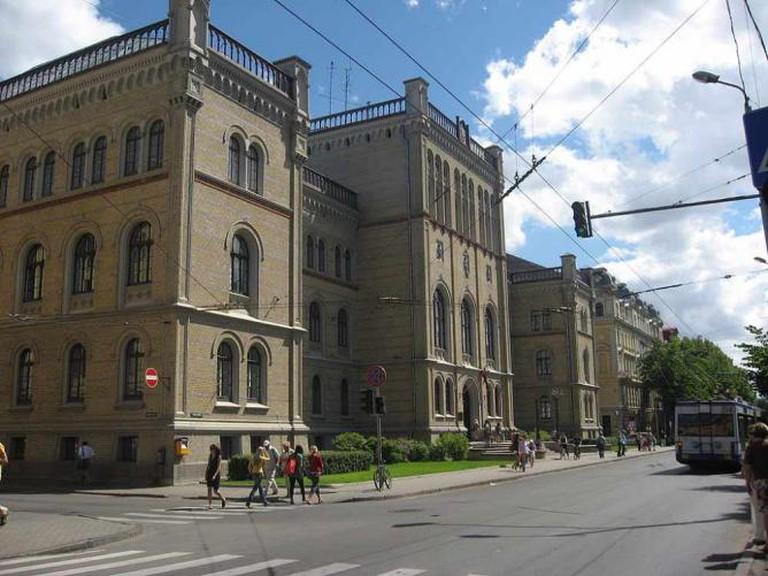 University of Latvia   © Dezidor/Wikicommons