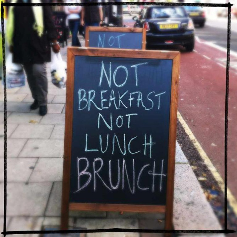 Brunch sign   © Louise McLaren/Flickr