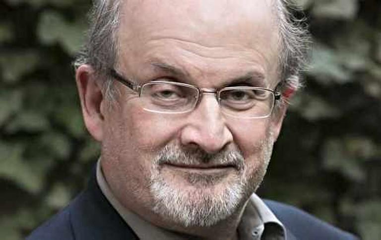 Rushing all over the world, Rushdie hits Cheltenham | Courtesy of McPhersonStevens and Cheltenham Festivals