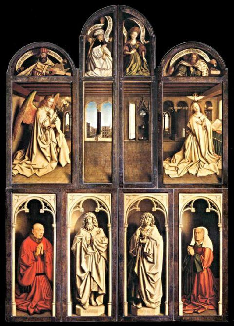 Ghent Altarpiece closed | © JarektUploadBot/WikiCommons