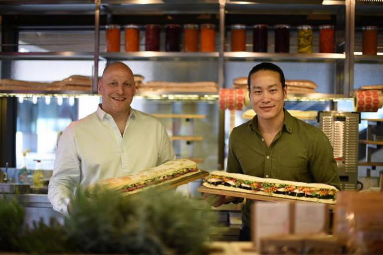 Mark Jankel and Jun Tanaka, Co-Founders of Street Kitchen | Courtesy of Street Kitchen