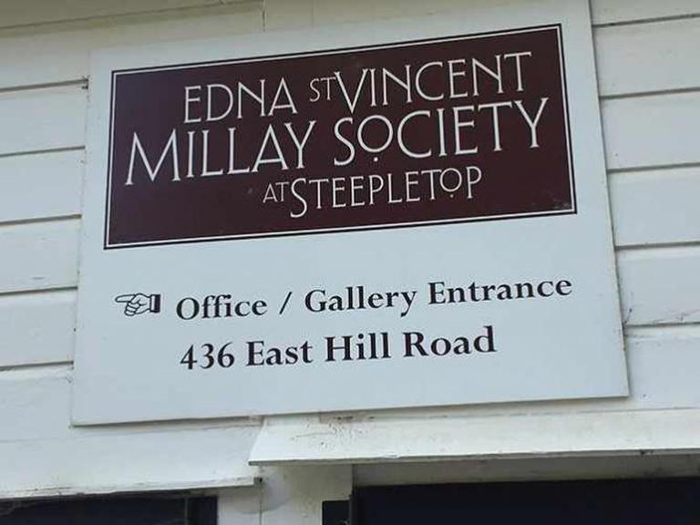 Edna St. Vincent Millay Society | © Anna G.