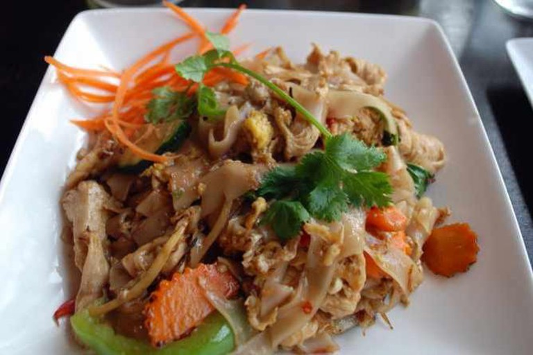 Drunken Noodles w/chicken | © Joe Wolf/Flickr