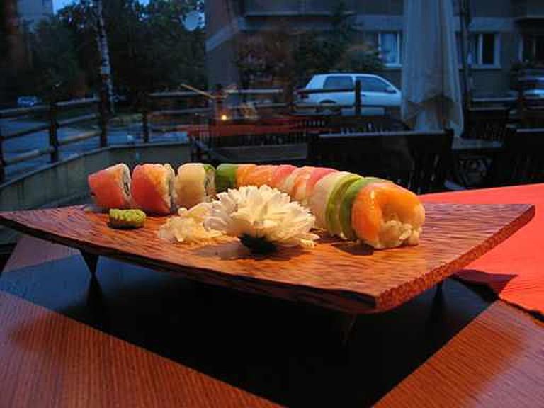 Colourful sushi | © Milko Krachounov/WikiCommons