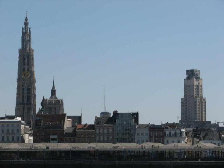 The Antwerp skyline © Stipo team for urban development/Flickr