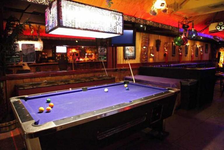 Pool tables | © Sam Howzit/Flickr