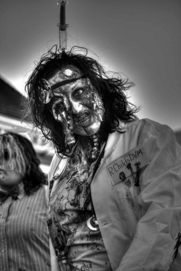 Black and White Zombie Doctor Tone Mapped | © Tom Woodward/Flickr