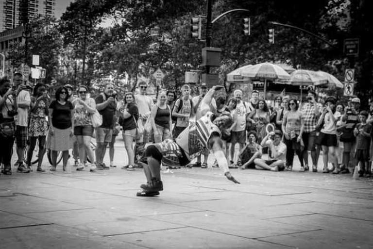 Big Guys Can Dance | © Guilherme Nicholas/Flickr