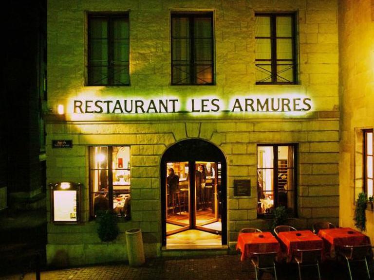 Restaurant Les Armures © Tak/Flickr