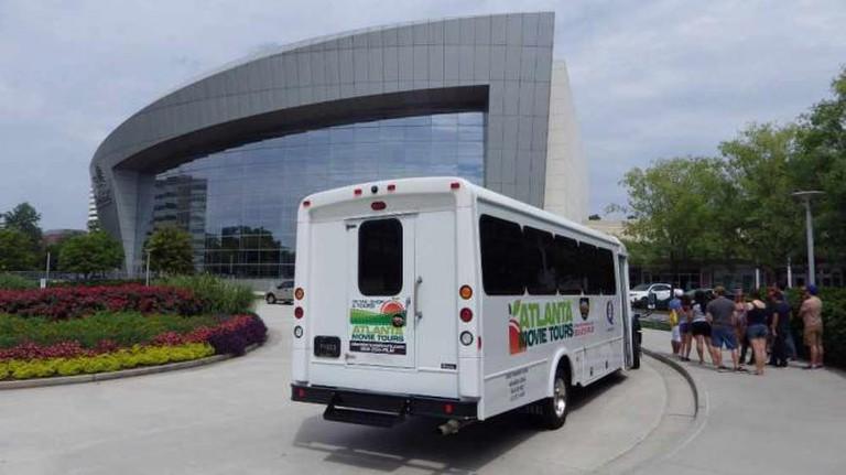 Atlanta Movie Tours bus | Courtesy of Atlanta Movie Tours
