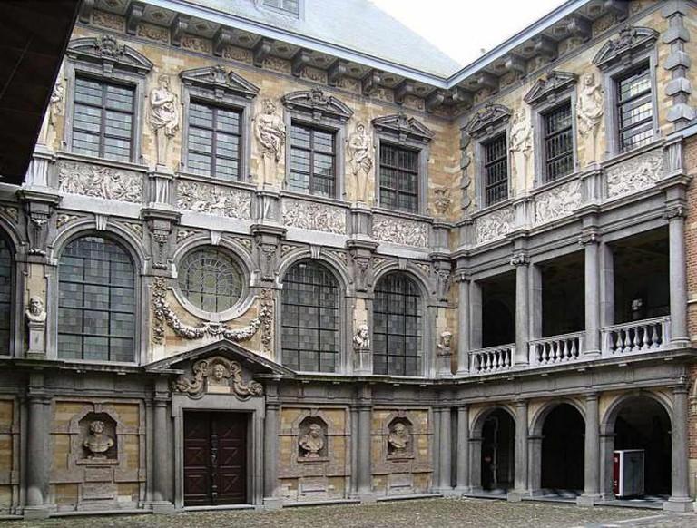 Rubenshuis interior courtyard © Velvet/WikiCommons