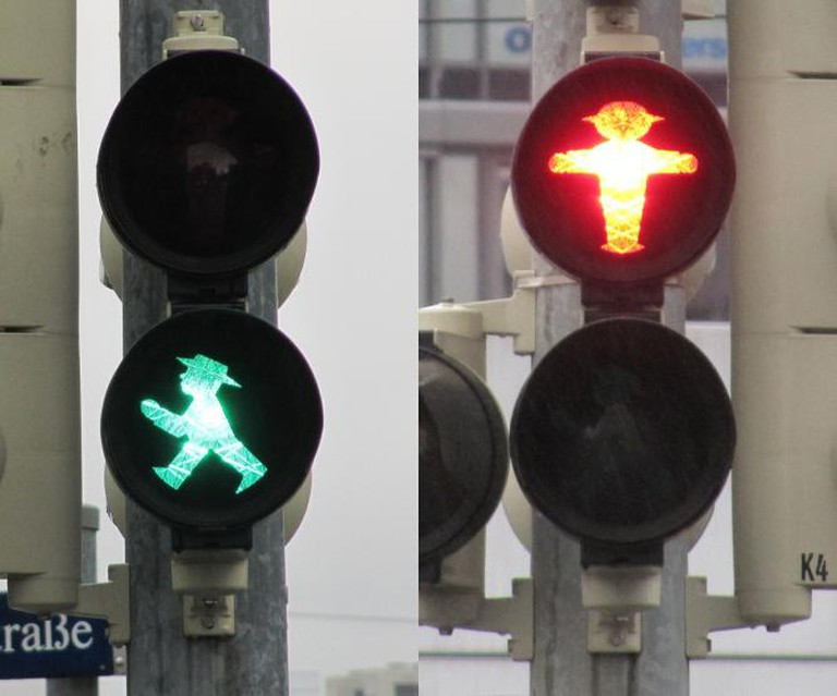 Ost-Ampelmännchen in Berlin | © Loozrboy/Flickr